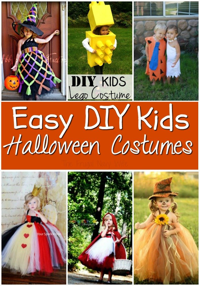 Best ideas about Easy DIY Kids Costumes . Save or Pin DIY Halloween Costume Ideas for Kids You Will Love Now.