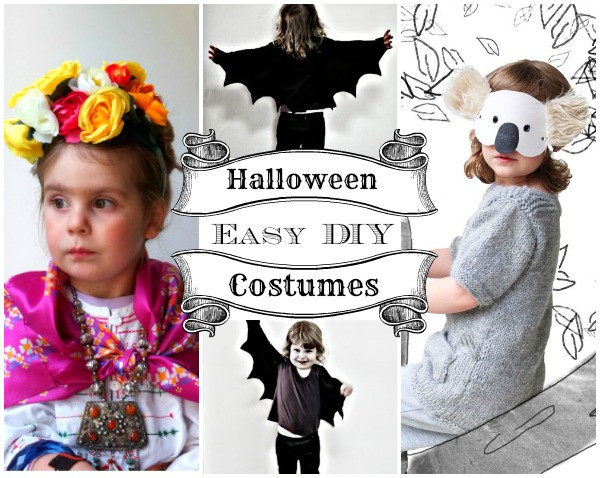 Best ideas about Easy DIY Kids Costumes . Save or Pin Easy DIY Halloween Costumes for Kids Now.