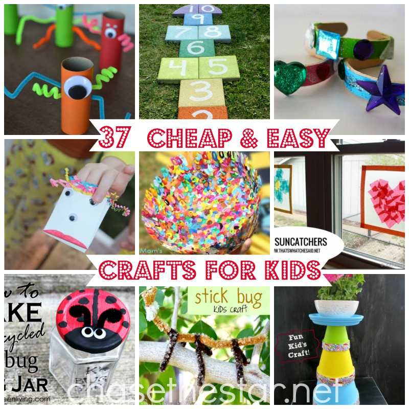 Best ideas about Easy DIY Projects For Kids . Save or Pin 37 Cheap and Easy Crafts For Kids Now.