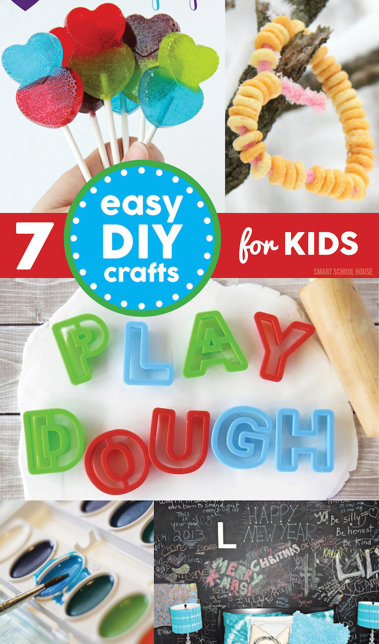 Best ideas about Easy DIY Projects For Kids . Save or Pin Winter Crafts for Kids Now.