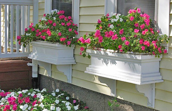 Best ideas about Easy DIY Window Boxes . Save or Pin DIY Window Box Projects • The Bud Decorator Now.