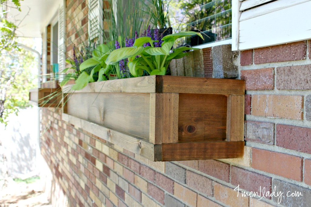 Best ideas about Easy DIY Window Boxes . Save or Pin DIY Window Boxes and a $100 ACE Giftcard Giveway Now.