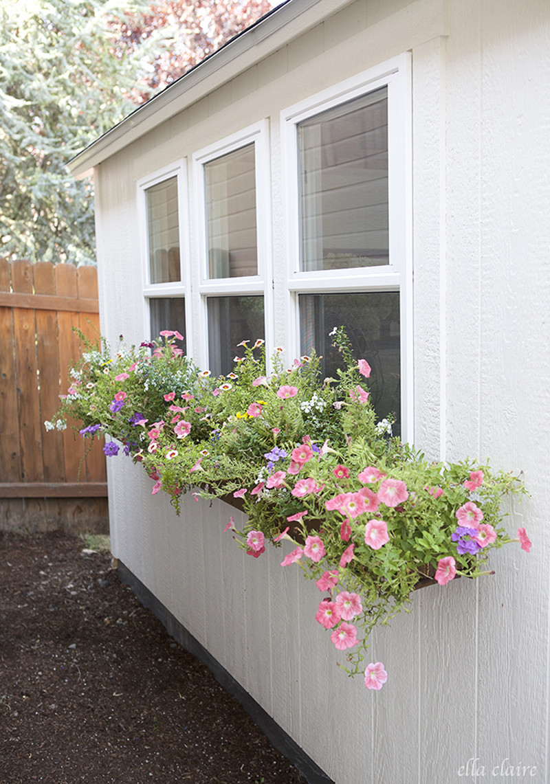 Best ideas about Easy DIY Window Boxes . Save or Pin 15 Front Yard Landscaping Ideas Now.