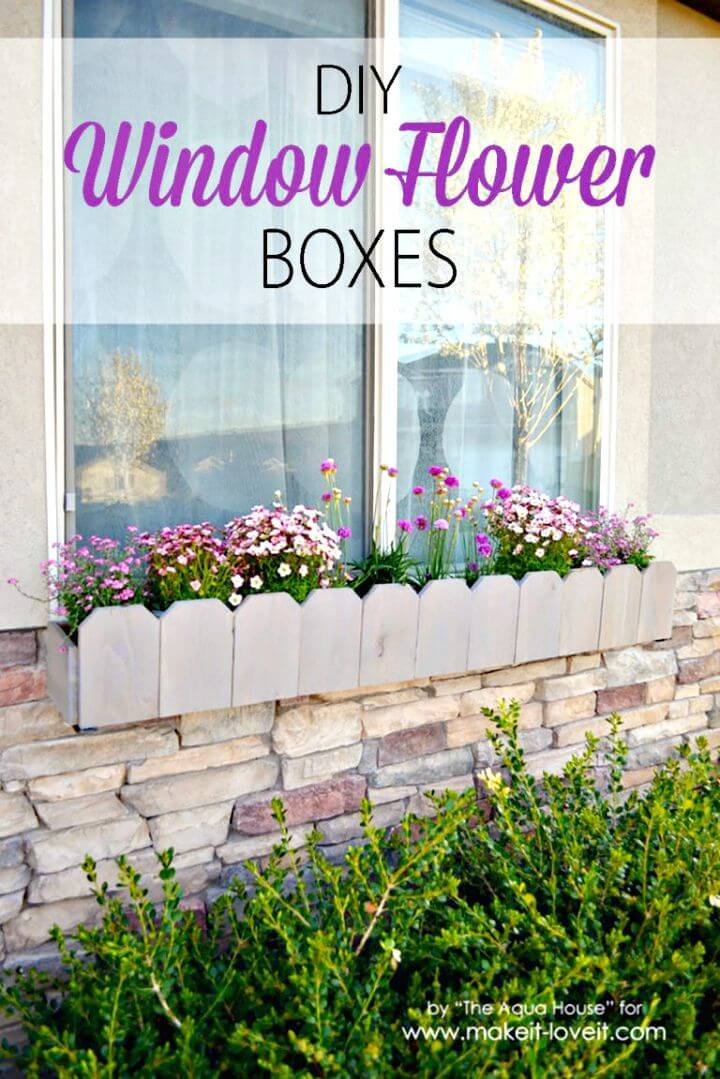 Best ideas about Easy DIY Window Boxes . Save or Pin DIY Window Planter Box Ideas 14 Easy Step by Step Plans Now.