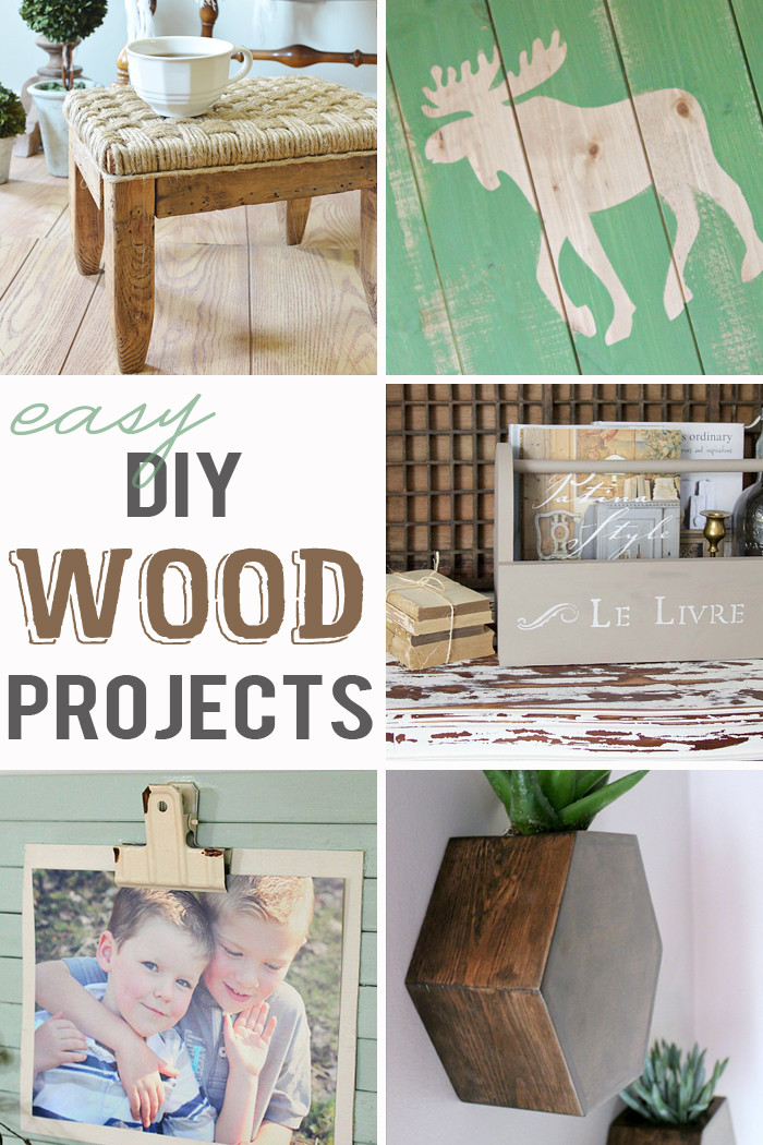 Best ideas about Easy DIY Wood Projects . Save or Pin Easy DIY Wood Projects M&MJ Link Party 107 Now.