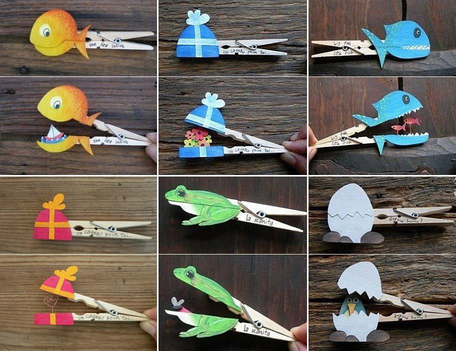 Best ideas about Easy Do It Yourself Projects For Kids . Save or Pin DIY Clothespin Crafts DIY Projects Now.