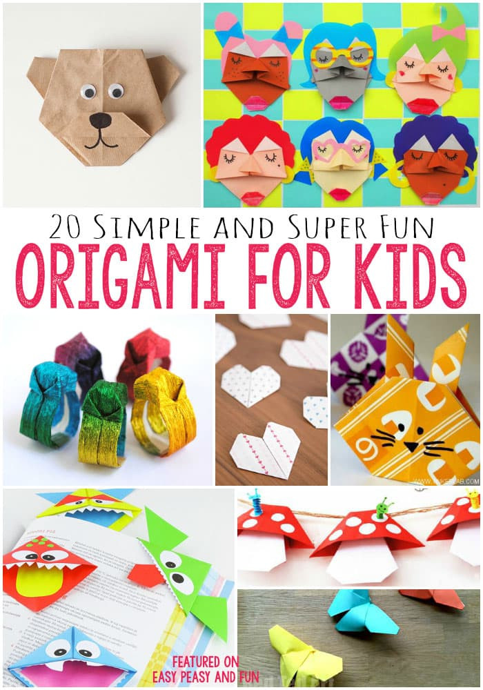 Best ideas about Easy For Kids . Save or Pin 20 Cute and Easy Origami for Kids Easy Peasy and Fun Now.