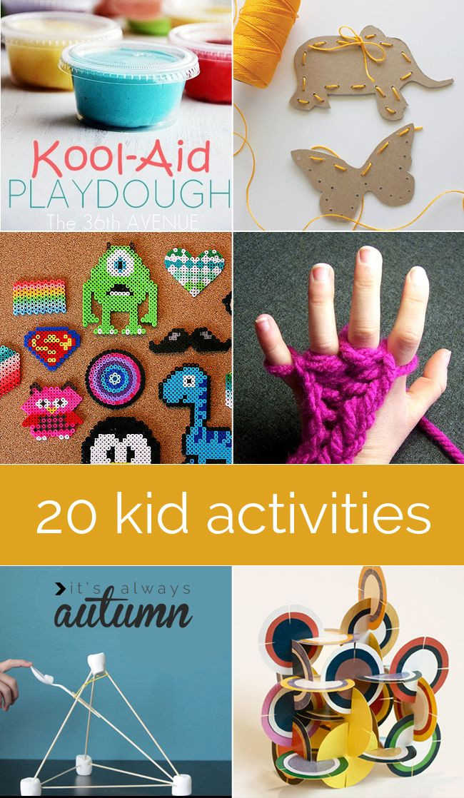 Best ideas about Easy Kids Activities . Save or Pin Indoor Crafts on Pinterest Now.
