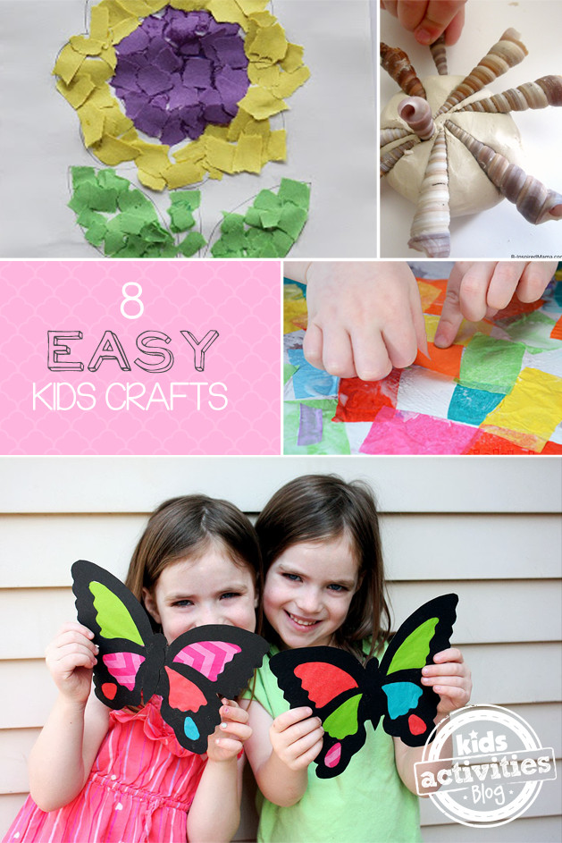 Best ideas about Easy Kids Activities . Save or Pin A Gallery of Easy Crafts for Kids Has Been Published Now.