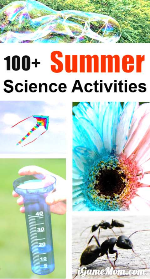 Best ideas about Easy Kids Activities . Save or Pin Easy Summer Science Activities for Kids Now.