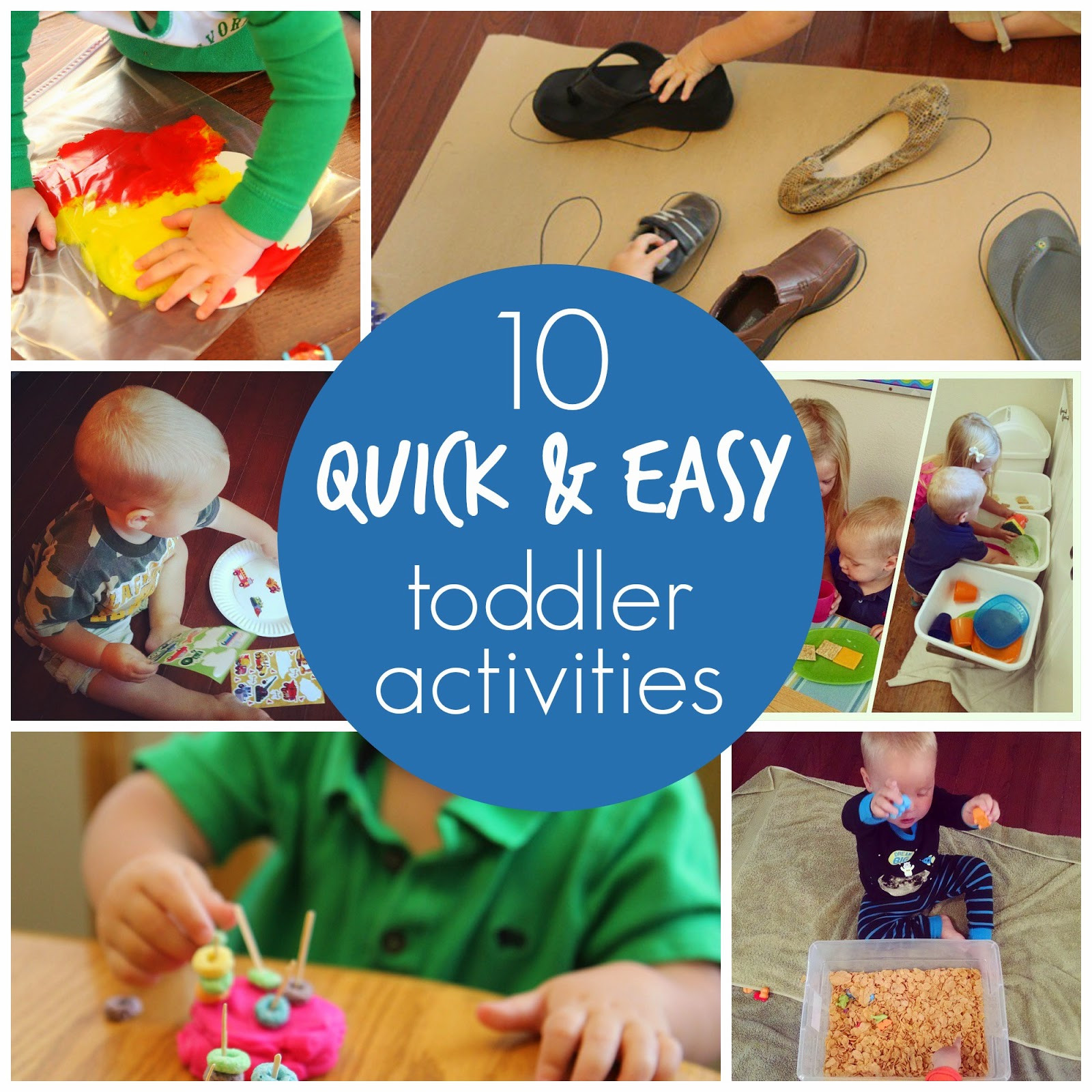 Best ideas about Easy Kids Activities . Save or Pin Toddler Approved 10 Quick & Easy Toddler Activities Now.