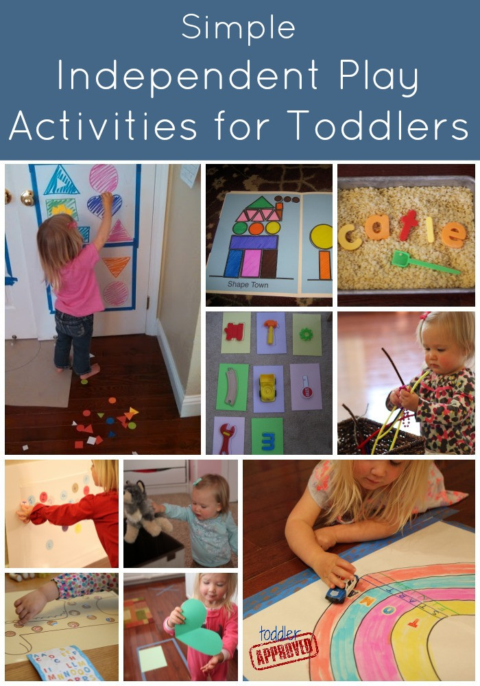 Best ideas about Easy Kids Activities . Save or Pin Toddler Approved Simple Independent Play Activities for Now.