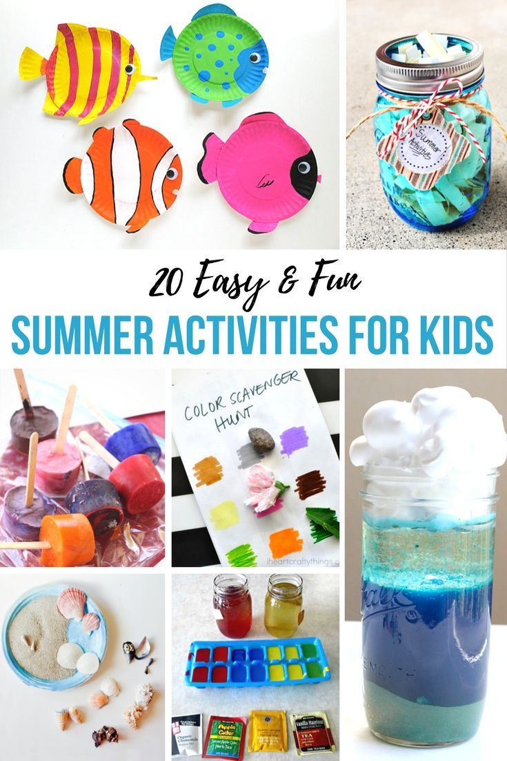 Best ideas about Easy Kids Activities . Save or Pin 387 best Holidays & Seasons Summer Time Fun images on Now.