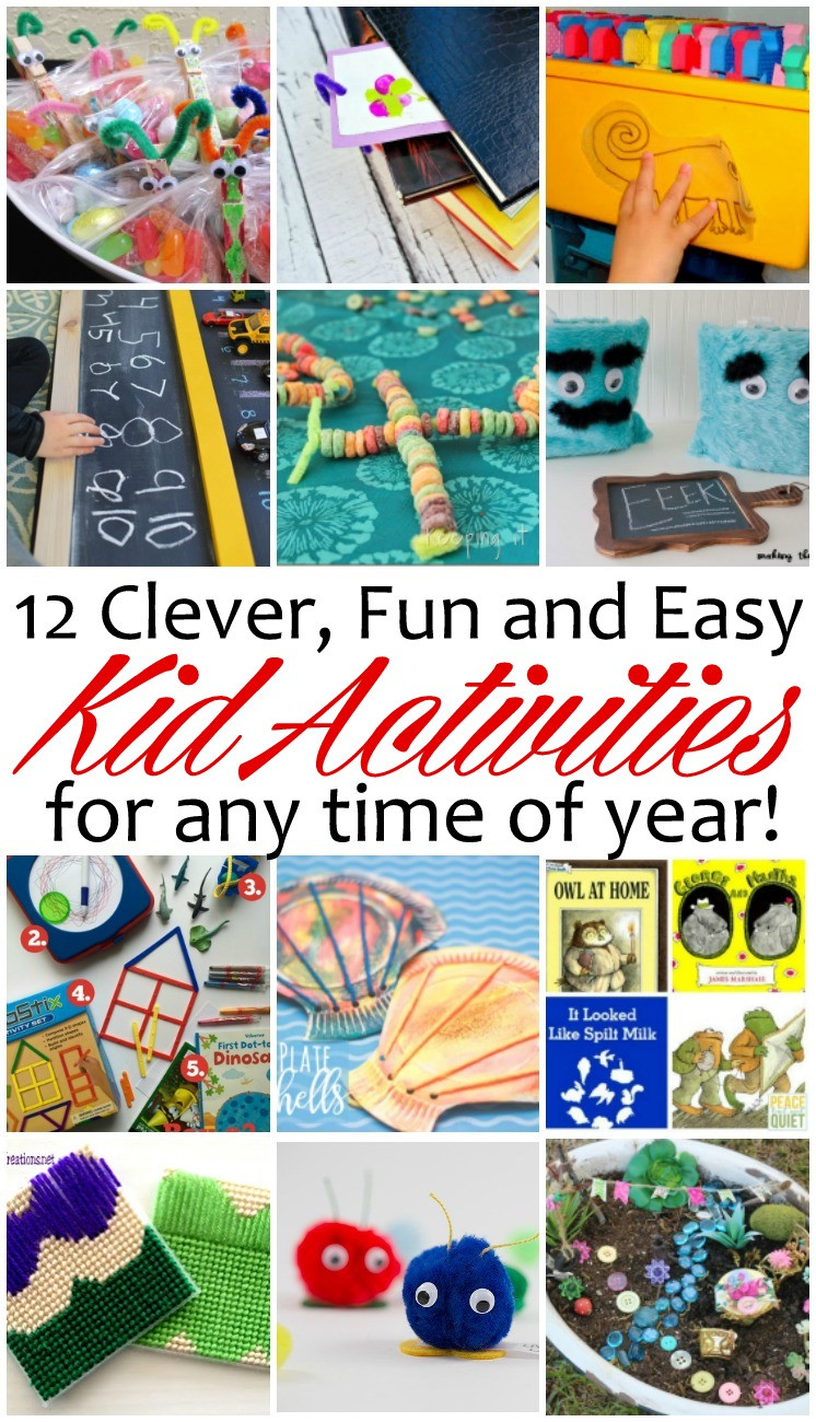 Best ideas about Easy Kids Activities . Save or Pin 10 Fun and Easy Kid Activities and Block Party Rae Gun Now.