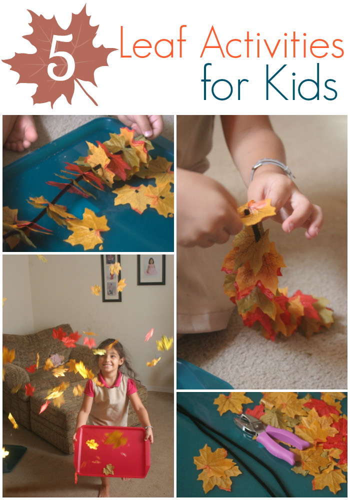 Best ideas about Easy Kids Activities . Save or Pin 5 Simple Leaf Activities for Kids Now.