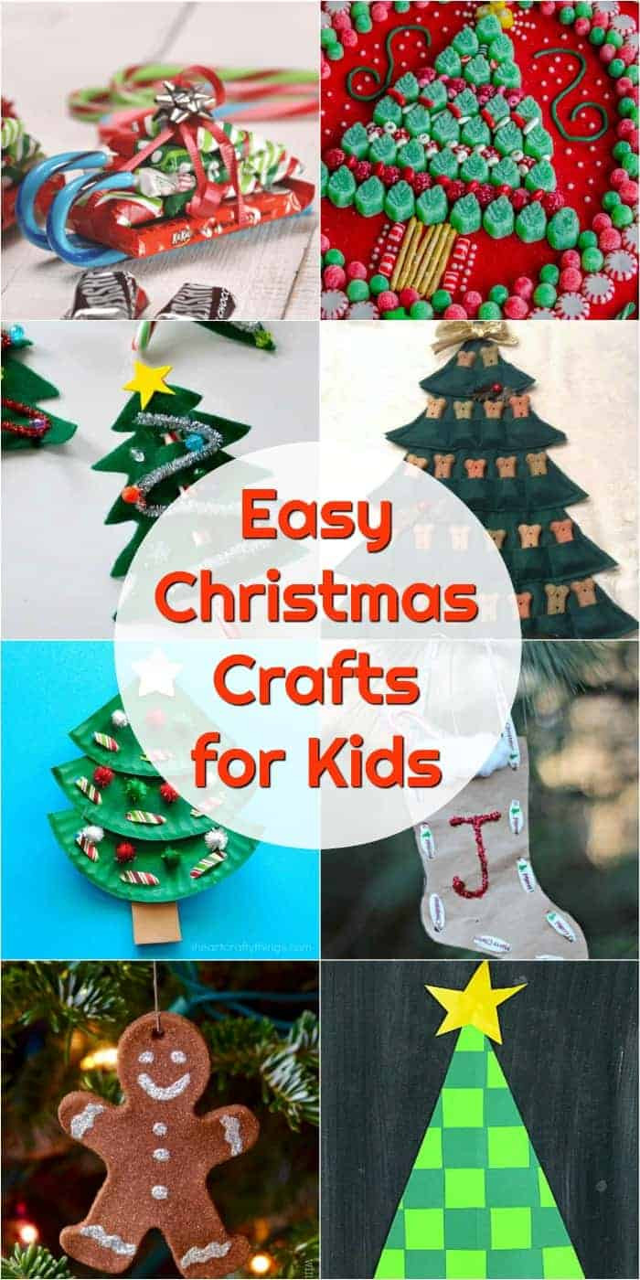 Best ideas about Easy Kids Crafts Ideas . Save or Pin Kids Christmas Crafts to DIY decorate your holiday home Now.