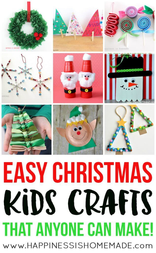 Best ideas about Easy Kids Crafts . Save or Pin Easy Fall Kids Crafts That Anyone Can Make Happiness is Now.