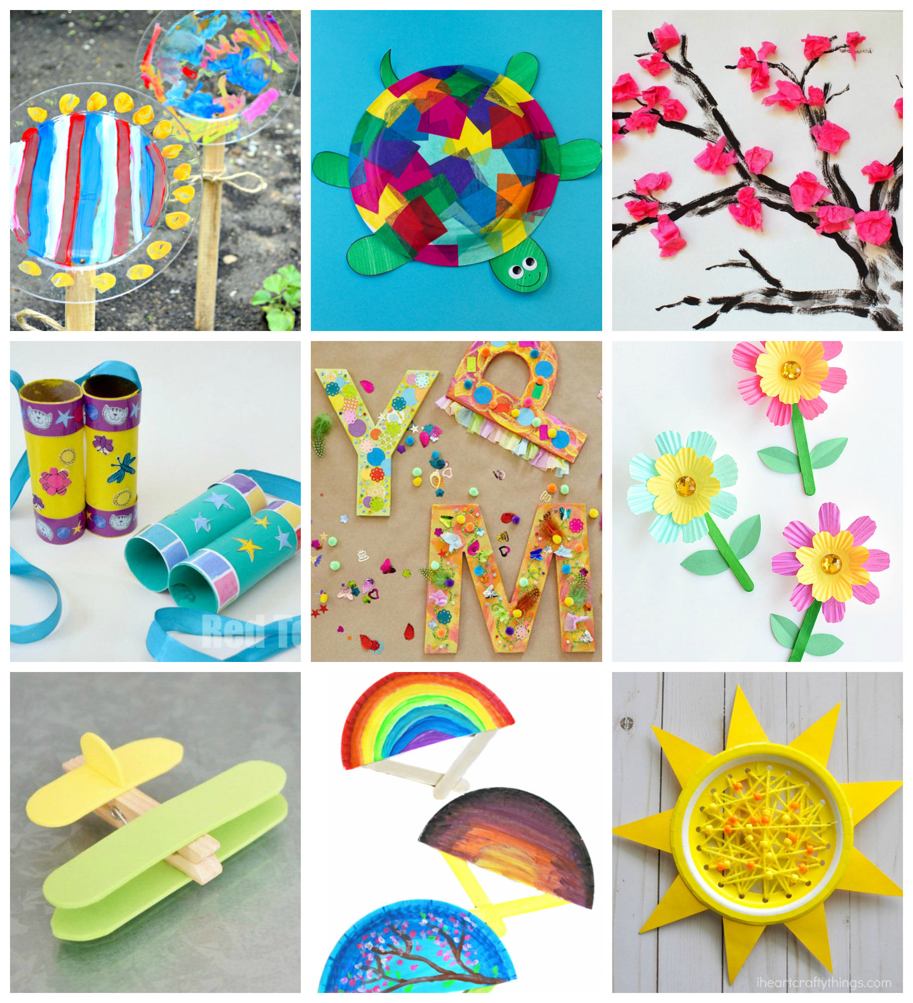Best ideas about Easy Kids Crafts . Save or Pin 50 Quick & Easy Kids Crafts that ANYONE Can Make Now.