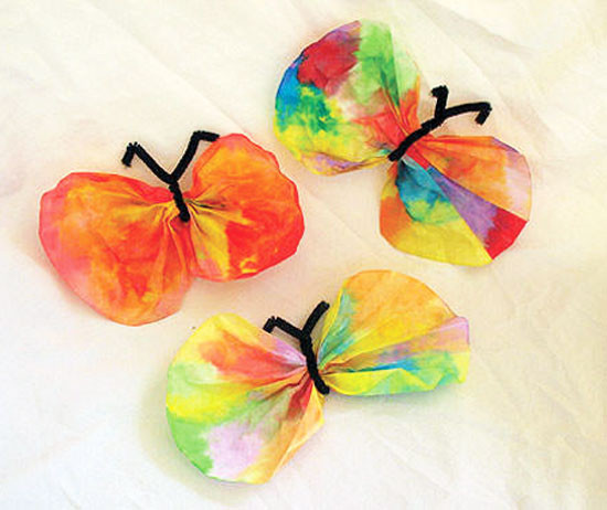 Best ideas about Easy Kids Crafts . Save or Pin Easy Kids Crafts Coffee Filter Butterfly Craft Now.