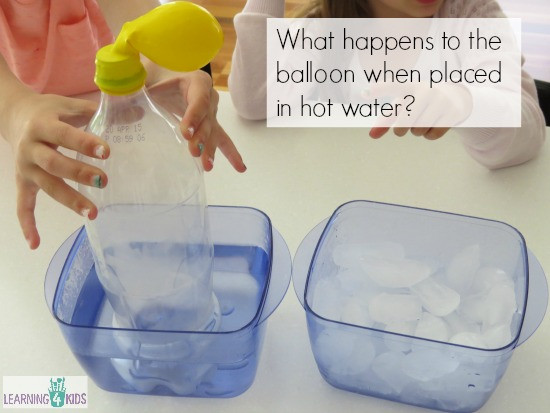 Best ideas about Easy Kids Project . Save or Pin Hot Air Cold Air Science Activity Now.