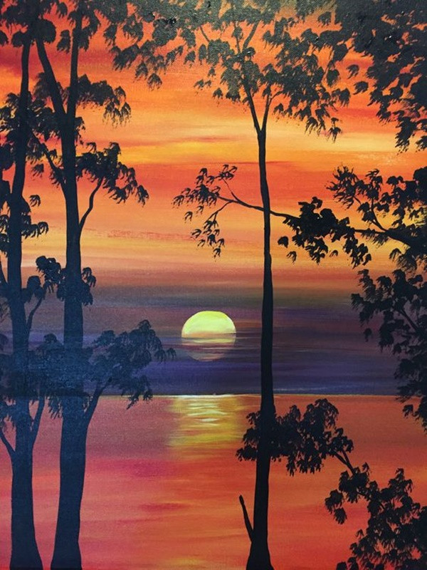 Best ideas about Easy Landscape Paintings . Save or Pin 40 Easy And Simple Landscape Painting Ideas Now.