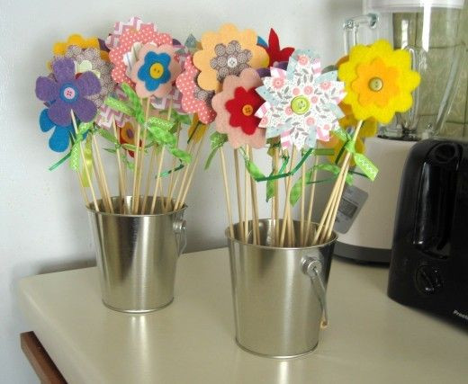 Best ideas about Easy Spring Crafts For Adults . Save or Pin Craft Ideas for Kids 10 Homemade Gifts Kids Can Make Now.