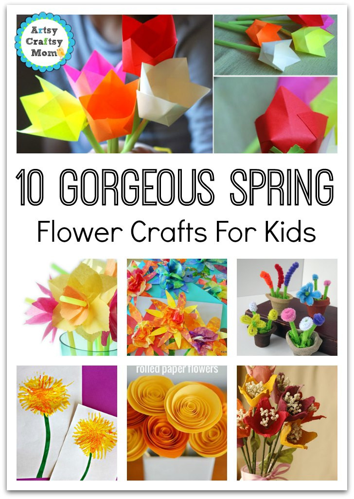Best ideas about Easy Spring Crafts For Kids . Save or Pin 72 Fun Easy Spring Crafts for Kids Artsy Craftsy Mom Now.