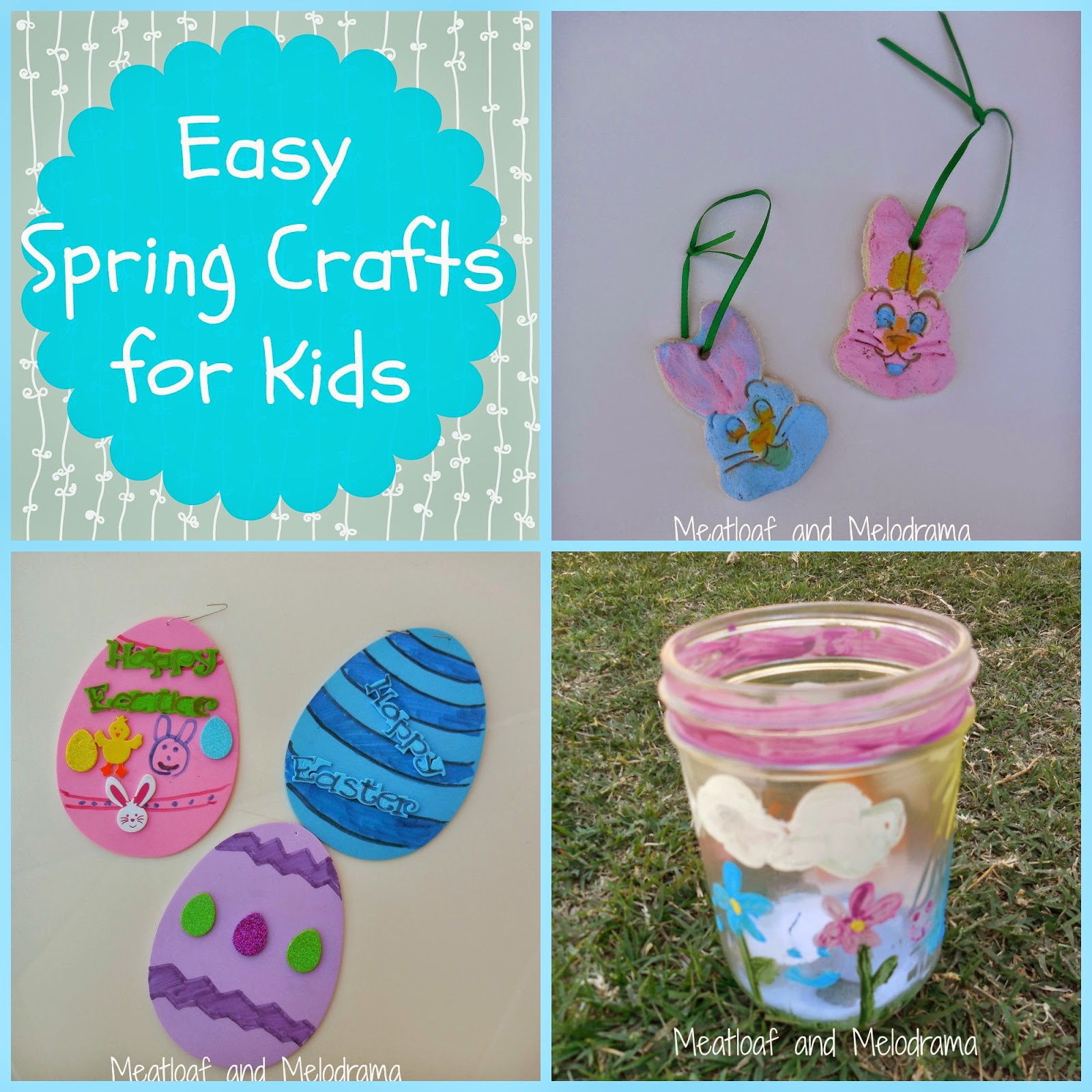 Best ideas about Easy Spring Crafts For Kids . Save or Pin Easy Spring Crafts for Kids Meatloaf and Melodrama Now.