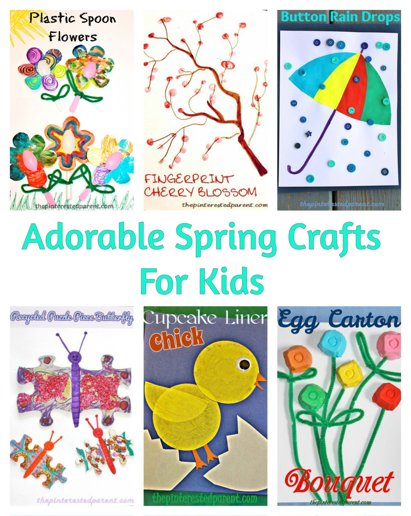 Best ideas about Easy Spring Crafts For Kids . Save or Pin Cute & Simple Spring Crafts For Kids – The Pinterested Parent Now.