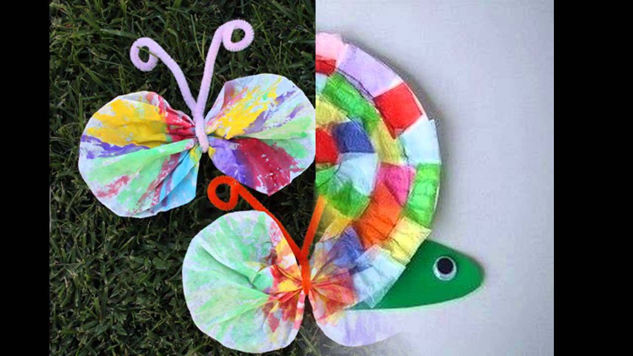 Best ideas about Easy Spring Crafts For Kids . Save or Pin Easy DIY spring crafts for kids Now.