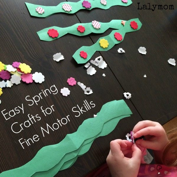 Best ideas about Easy Spring Crafts For Preschoolers . Save or Pin Spring Crafts for Preschool Fine Motor Skills LalyMom Now.