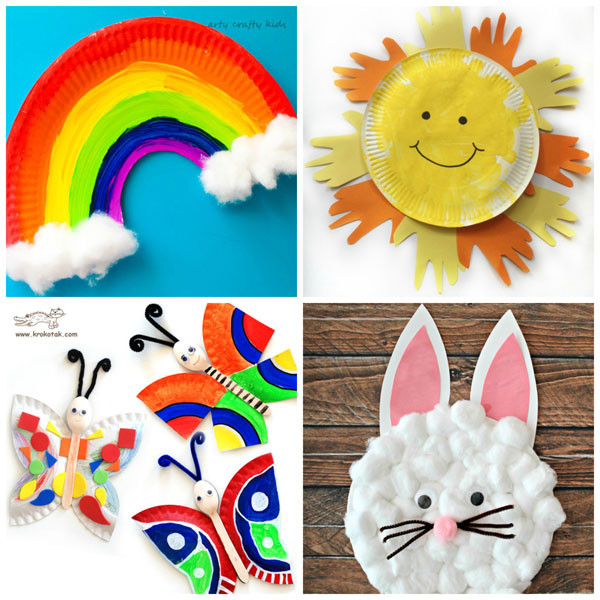Best ideas about Easy Spring Crafts For Preschoolers . Save or Pin 15 Paper Plate Spring Crafts for Kids Now.
