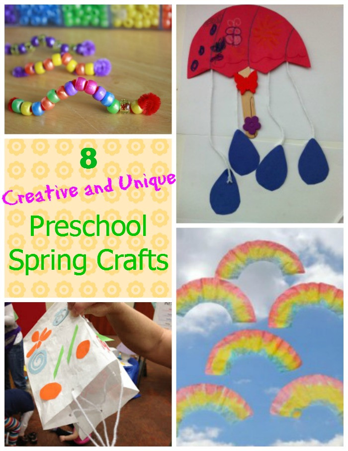 Best ideas about Easy Spring Crafts For Preschoolers . Save or Pin 8 Creative and Unique Preschool Spring Crafts How Wee Learn Now.