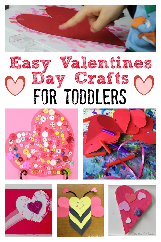 Best ideas about Easy Valentine Crafts For Preschoolers . Save or Pin Valentines Day Crafts for Toddlers Crafts on Sea Now.