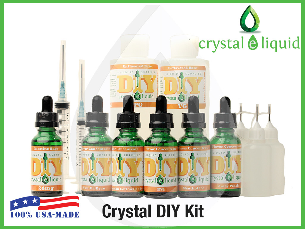 Best ideas about Ejuice DIY Kits . Save or Pin Crystal e Liquid DIY Kit Now.