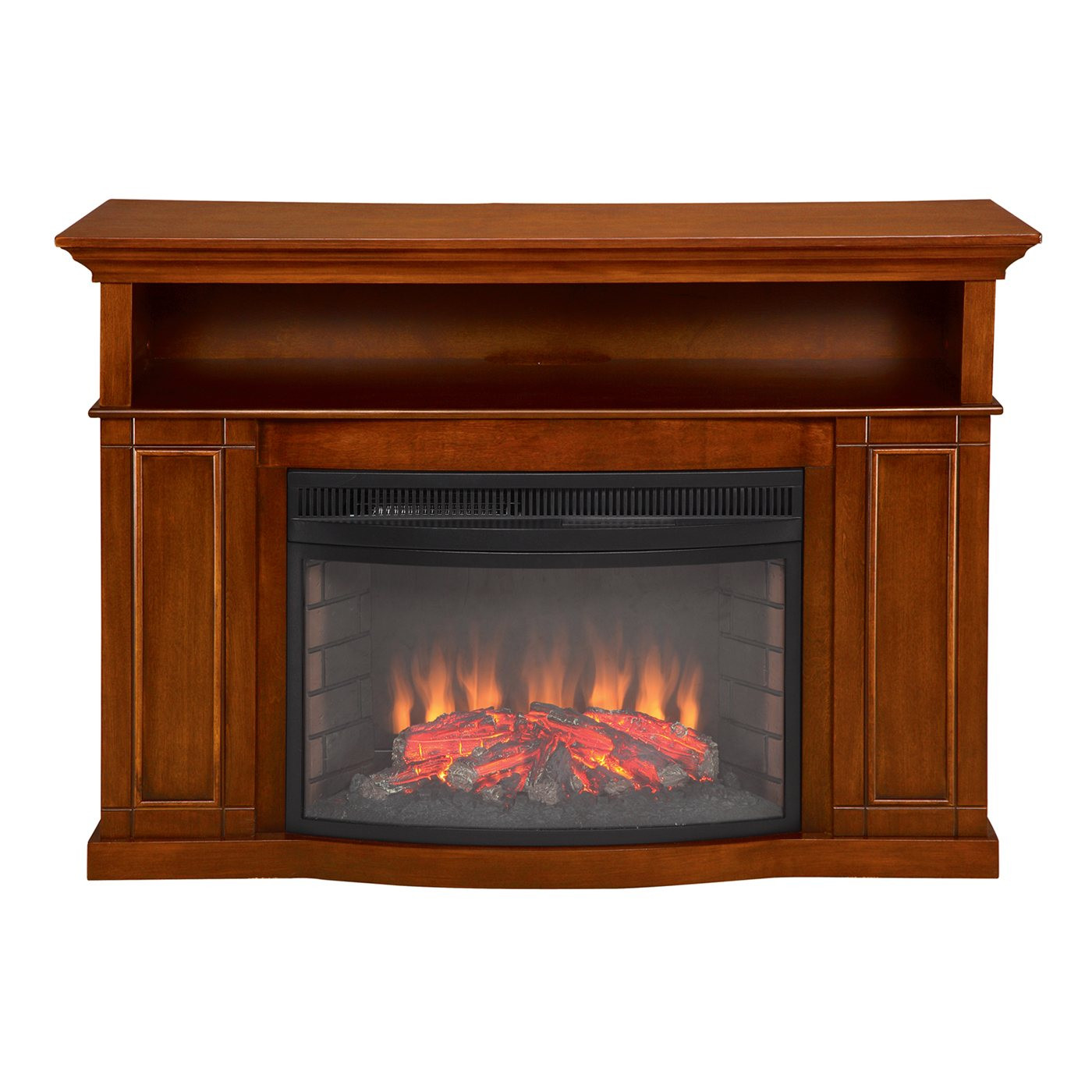 Best ideas about Electric Fireplace Tv Stand Lowes . Save or Pin Muskoka MTVSC2593SBP Sheppard Electric Fireplace Now.