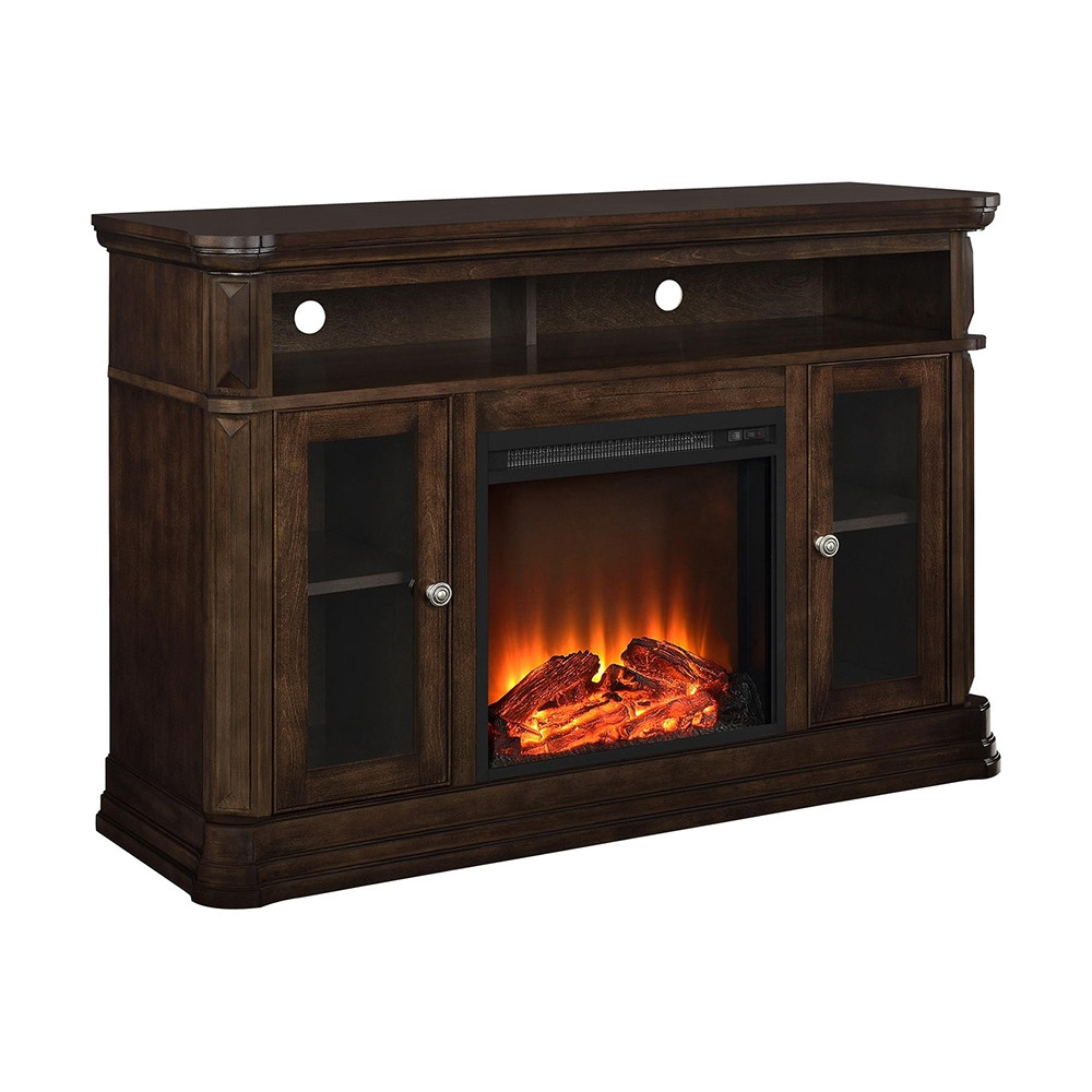 Best ideas about Electric Fireplace Tv Stand Lowes . Save or Pin Ameriwood Home Brooklyn Electric Fireplace TV Console for Now.