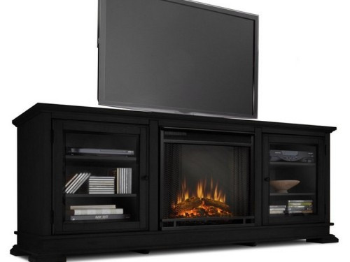 Best ideas about Electric Fireplace Tv Stand Lowes . Save or Pin Tv Stand With Electric Fireplace Lowes Now.