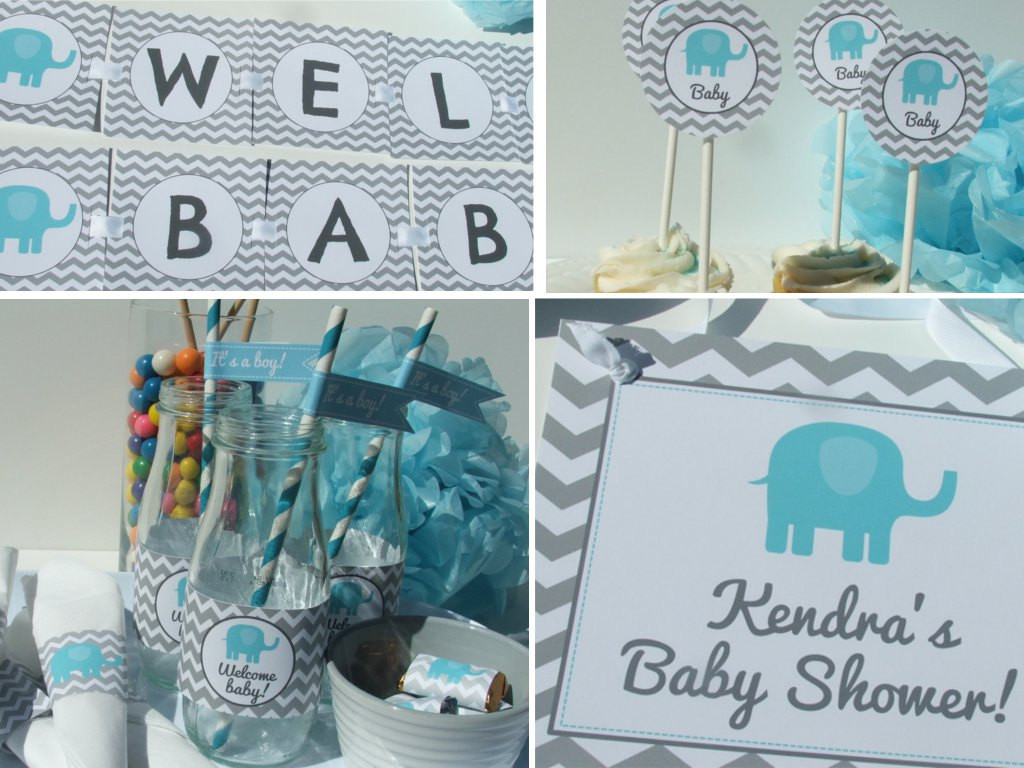 Best ideas about Elephant Baby Shower Decorations DIY . Save or Pin 5 DIY Baby Shower Decoration Ideas Now.