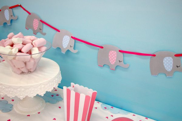 Best ideas about Elephant Baby Shower Decorations DIY . Save or Pin 21 DIY Baby Shower Decorations To Surprise and Spoil Any Now.
