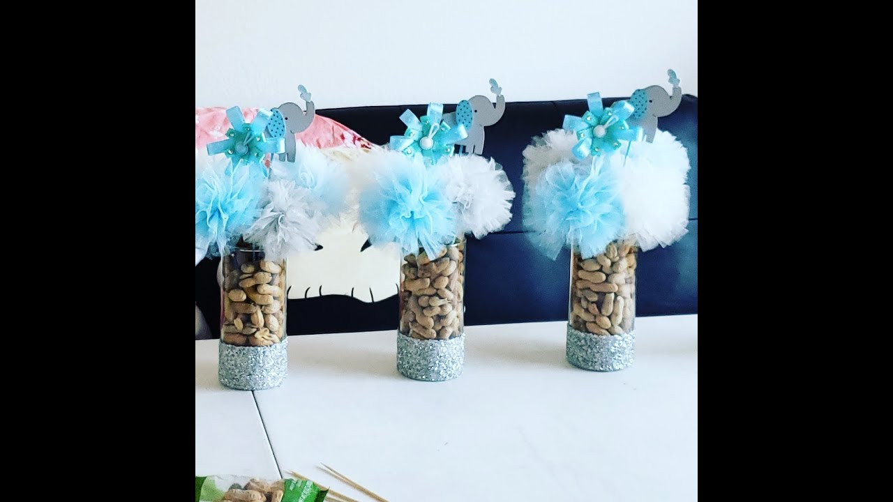 Best ideas about Elephant Baby Shower Decorations DIY . Save or Pin Diy baby shower elephant centerpiece pinterest inspired Now.