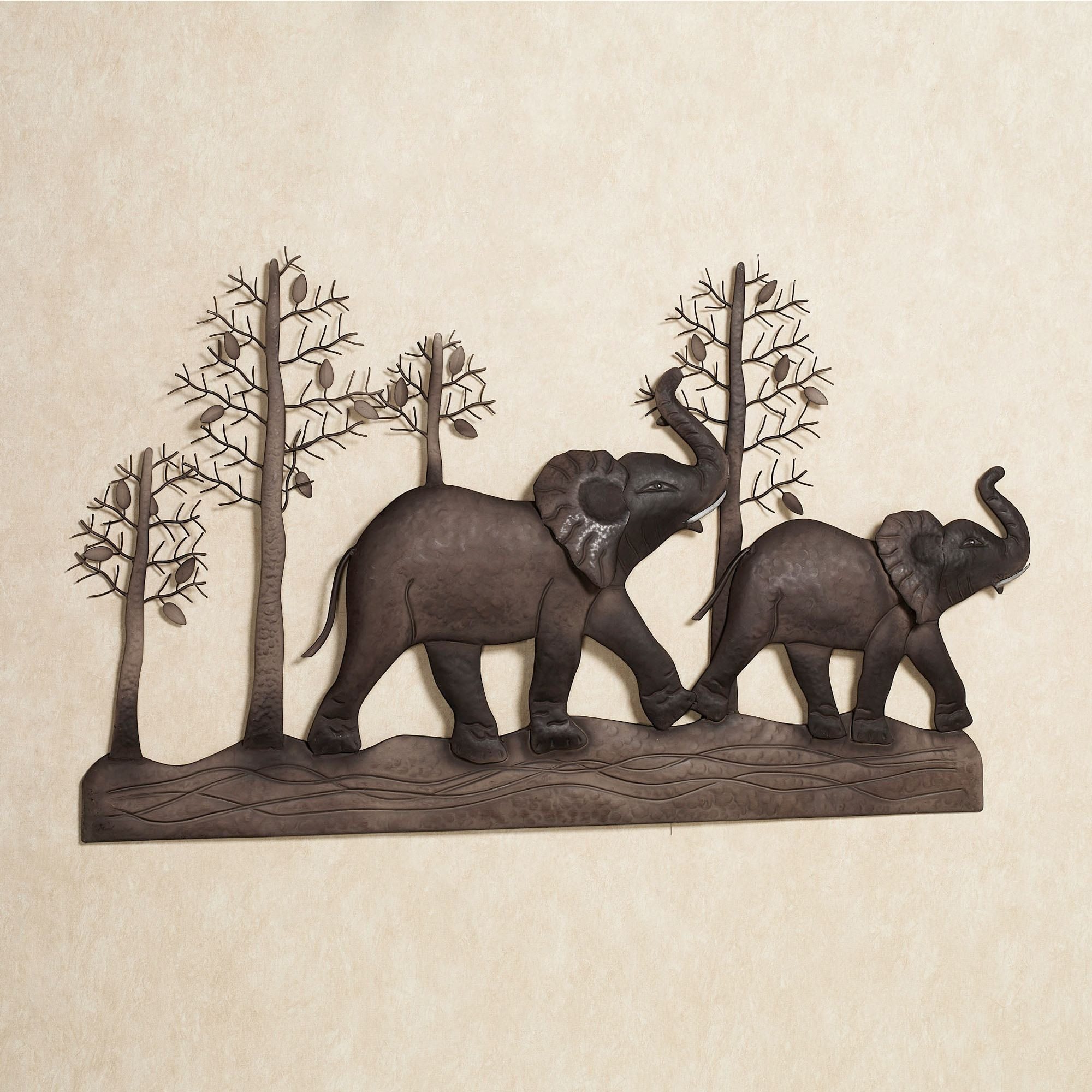 Best ideas about Elephant Wall Art . Save or Pin Elephant Metal Wall Art Now.