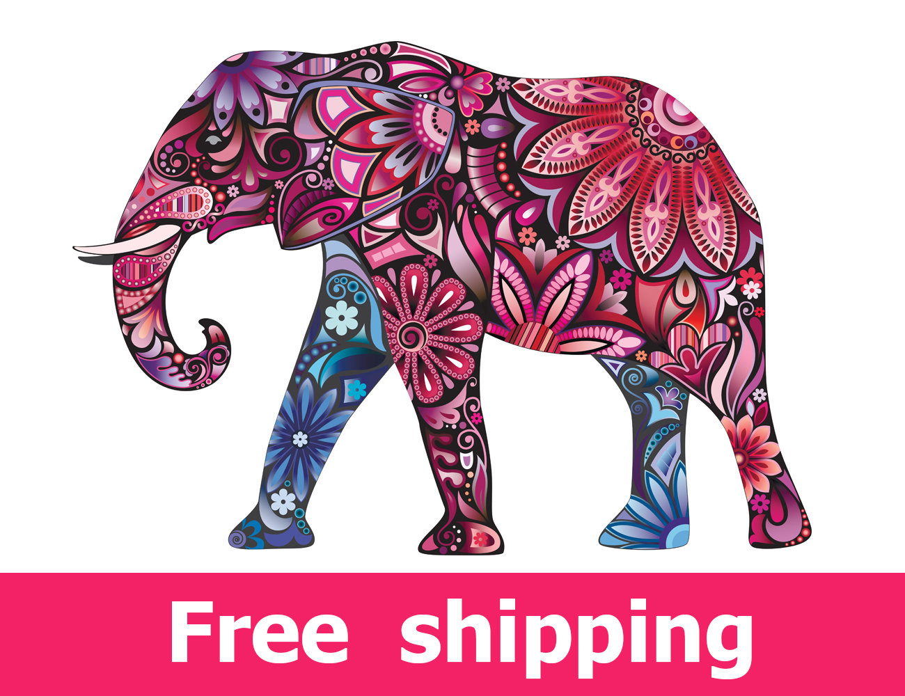Best ideas about Elephant Wall Art . Save or Pin Elephant wall sticker nursery wall art elephant wall decal Now.