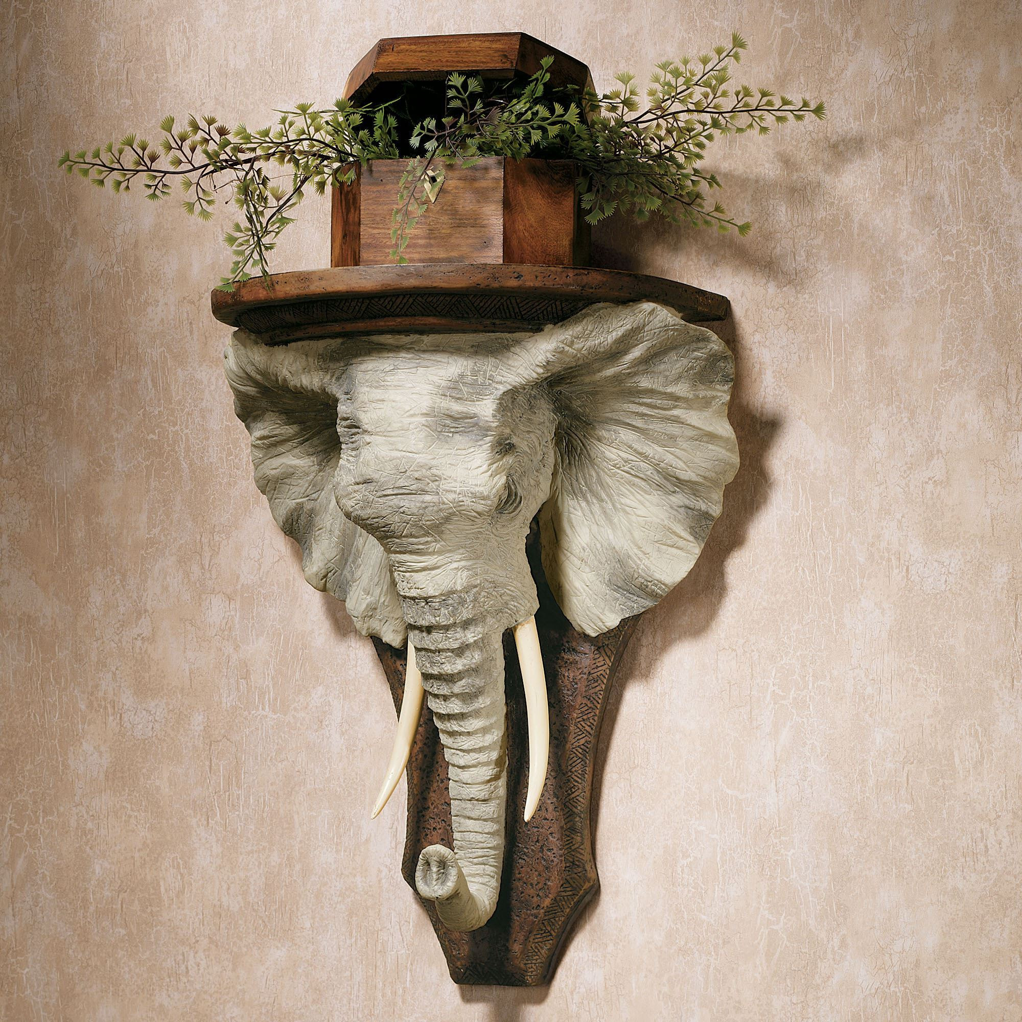 Best ideas about Elephant Wall Art . Save or Pin Elephant Wall Shelf Now.