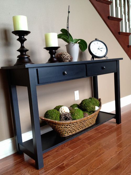Best ideas about Entrance Table Ideas . Save or Pin 25 best ideas about Foyer table decor on Pinterest Now.