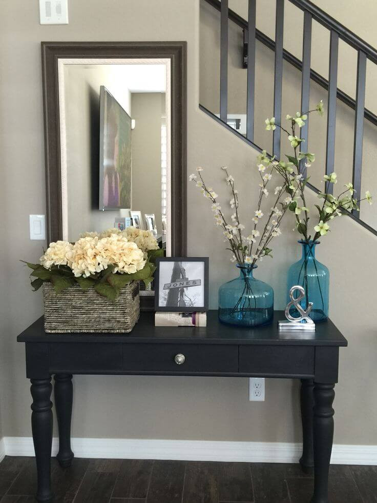 Best ideas about Entrance Table Ideas . Save or Pin 37 Best Entry Table Ideas Decorations and Designs for 2019 Now.