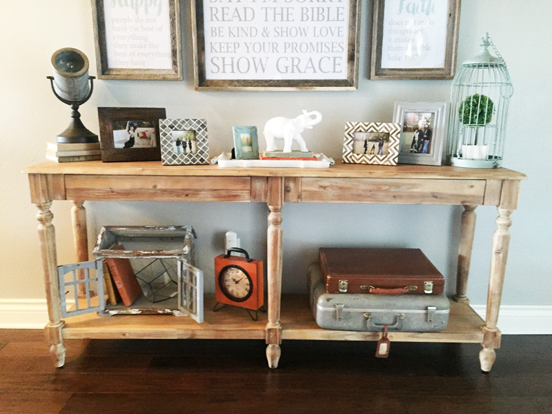 Best ideas about Entrance Table Ideas . Save or Pin Gallery Wall Idea Entry Way Gallery Wall How To Art Now.