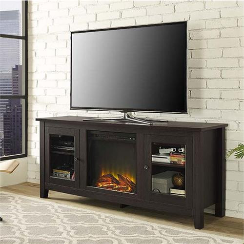 Best ideas about Espresso Fireplace Tv Stand . Save or Pin Walker Edison 60 inch TV Stand with Electric Fireplace Now.