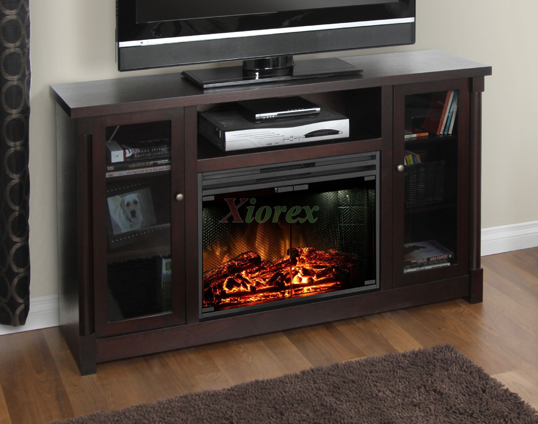 Best ideas about Espresso Fireplace Tv Stand . Save or Pin Muskoka Coventry TV Stand Fireplace in Espresso Now.