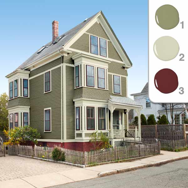 Best ideas about Exterior House Paint Colors Photo Gallery . Save or Pin Most Popular House Paint Colors Exterior Decor Now.